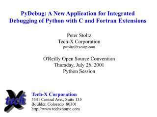 PyDebug: A New Application for Integrated Debugging of Python with C and Fortran Extensions