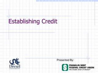 Establishing Credit