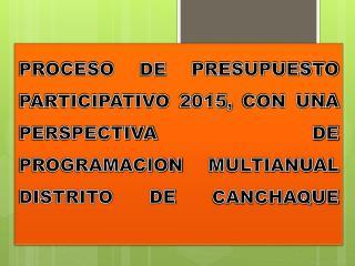 BALANCE DE LOS PROYECTOS PRIORIZADOS EN EL PP 2012