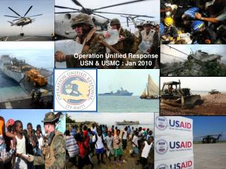 Operation Unified Response USN  USMC : Jan 2010