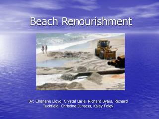 Beach Renourishment
