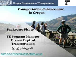 Transportation Enhancement in Oregon