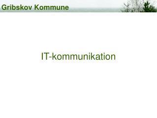 IT-kommunikation