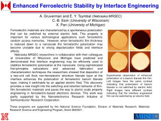 Enhanced Ferroelectric Stability by Interface Engineering
