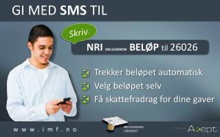 Gi med  SMS  til