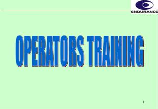 OPERATORS TRAINING