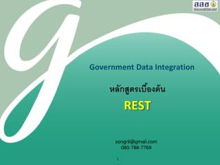Government Data Integration