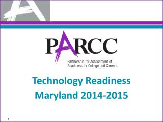 Technology Readiness Maryland 2014-2015