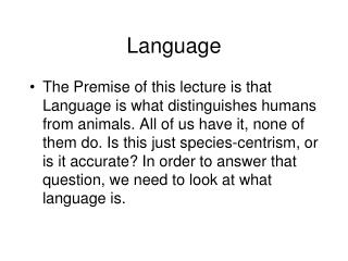 The nature of bilingual Specific Language Impairment SLI