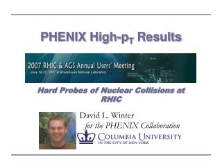 PHENIX High-p T  Results