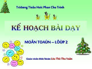 Tröôøng Tieåu Hoïc Phan Chu Trinh
