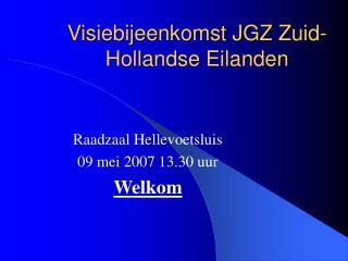 Visiebijeenkomst JGZ Zuid-Hollandse Eilanden