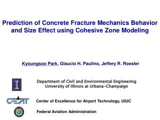 Prediction of Concrete Fracture Mechanics Behavior and Size Effect using Cohesive Zone Modeling