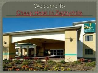 Cheap Hotel In Zephyrhills,