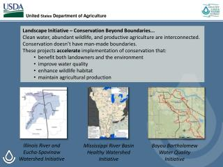 Mississippi River Basin Healthy Watershed Initiative