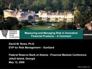 Measuring and Managing Risk in Innovative Financial Products – A Comment
