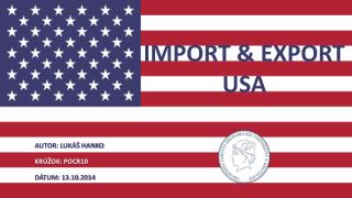 IMPORT & EXPORT USA