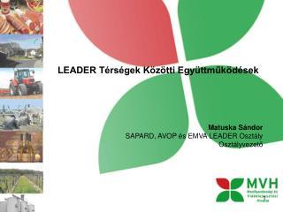 LEADER Térségek Közötti Együttműködések