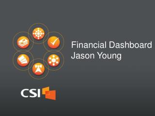 Financial  Dashboard Jason Young