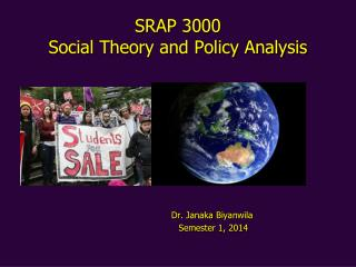 SRAP 3000 Social Theory and Policy Analysis