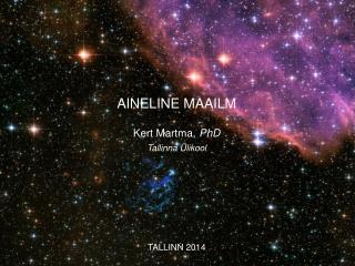 AINELINE MAAILM