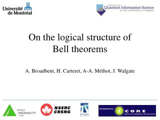 On the logical structure of Bell theorems
