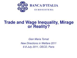 Trade and Wage Inequality, Mirage or Reality?