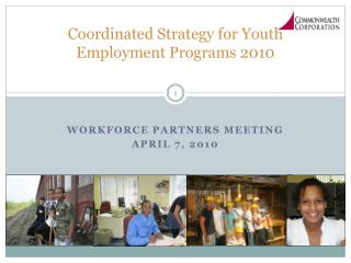 Coordinated Strategy for Youth Employment Programs 2010
