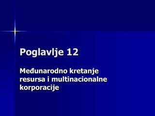 Poglavlje 12