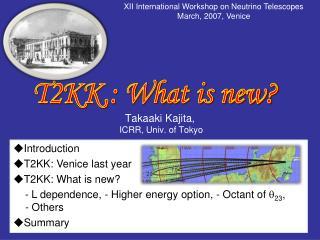 Takaaki Kajita,  ICRR, Univ. of Tokyo