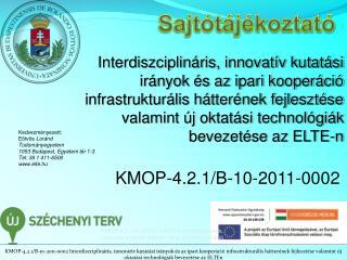 KMOP-4.2.1/B-10-2011-0002