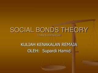 SOCIAL BONDS THEORY TRAVIS HIRSHCHI