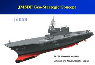 JMSDF Geo-Strategic Concept