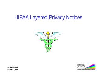HIPAA Layered Privacy Notices