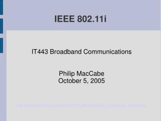 IEEE 802.11i