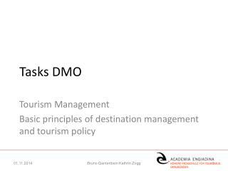 Tasks DMO