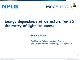 Energy dependence of detectors for 3D dosimetry of light ion beams