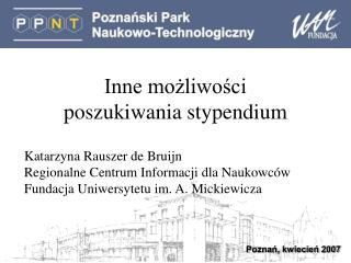 Poznań, kwiecień 2007