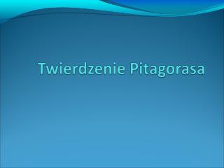 Kim był Pitagoras?