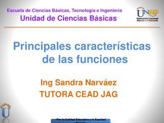 Escuela de Ciencias Básicas, Tecnología e Ingeniería          Unidad de Ciencias Básicas