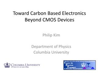 Toward Carbon Based Electronics Beyond CMOS Devices