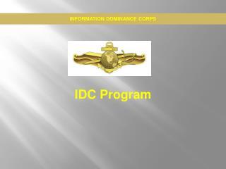 IDC Program