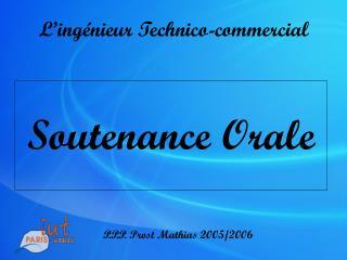 L�ing�nieur Technico-commercial