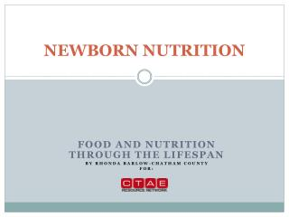 NEWBORN NUTRITION