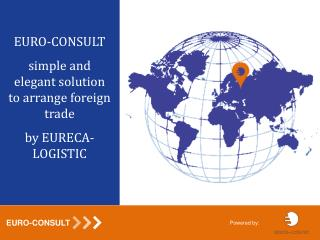 EURO - CONSULT simple and elegant solution to arrange foreign trade by EURECA-LOGISTIC