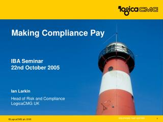 Making Compliance Pay