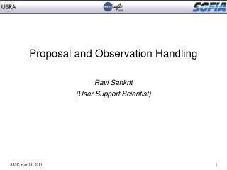 Proposal and Observation Handling