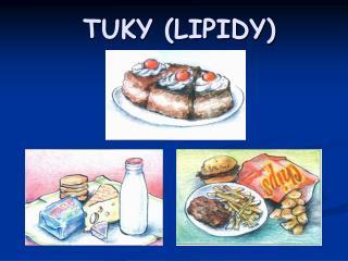TUKY (LIPIDY)