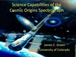 Science Capabilities of the Cosmic Origins Spectrograph