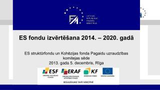 ES fondu  izvērtēšana